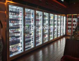 柬埔寨金边超市冷柜 可以散件到现场拼装