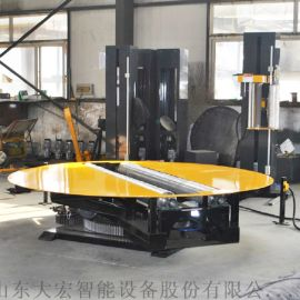 造纸厂可用圆筒缠绕机 圆筒纸缠绕机 二次元缠绕机