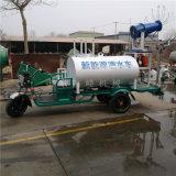 建筑扬尘电动洒水车,炮雾降尘新能源洒水车