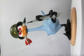厂家定制 命运之夜鸭子士兵 创意礼品桌面办公室摆件