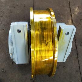 定做加工起重机车轮组型号齐全车轮组 天车锻钢车轮组