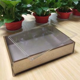 工厂定制亚克力盒子 收纳盒 展示盒