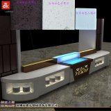 迪克自助餐台设计 自助餐台餐柜 主题餐厅装修设计