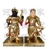 關公伽藍韋陀尊者菩薩 左右  神像