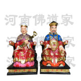 胡三太爷神像 胡仙雕塑 东北  家族