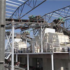 砂石料生产线设备,石英砂制砂生产线,破碎制砂设备