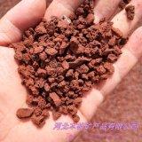 供應 育苗基質植物用火山石 紅色火山岩濾料