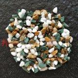 魚缸水族造景裝飾夜光石子 丹東綠石子 彩色鵝卵石