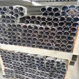 型材铝圆管 凸槽铝型材 造型铝方通