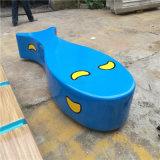 【智信鸿】鱼形FRP创意海洋馆座椅休闲椅玻璃钢坐凳
