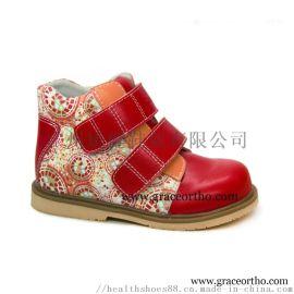 广州矫健力学矫正鞋,儿童内外翻足功能鞋,外贸童鞋