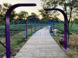 公园创意立牌 造景不锈钢立式导向牌 标识厂家