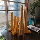 直插式电缆梯子架玻璃钢输电工程电缆梯子架