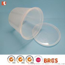 1.5L圓形湯碗 一次性外 湯盒塑料