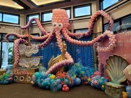 广东各大商业广场活动布置开业装饰气球展览