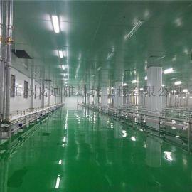 镇江电子电器工厂车间环氧自流平一体化施工