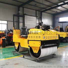 捷克 1吨座驾式压路机 双钢轮座驾式振动碾压路机
