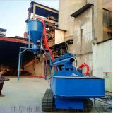 通畅气力输送机 自吸式干灰石粉输送设备 风力抽灰机