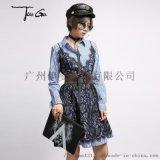广州女装货源  哥弟冬装时尚品牌女装 品牌折扣批发