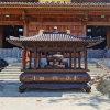 溫州昌東長方形銅香爐生產廠家、圓形銅香爐廠家