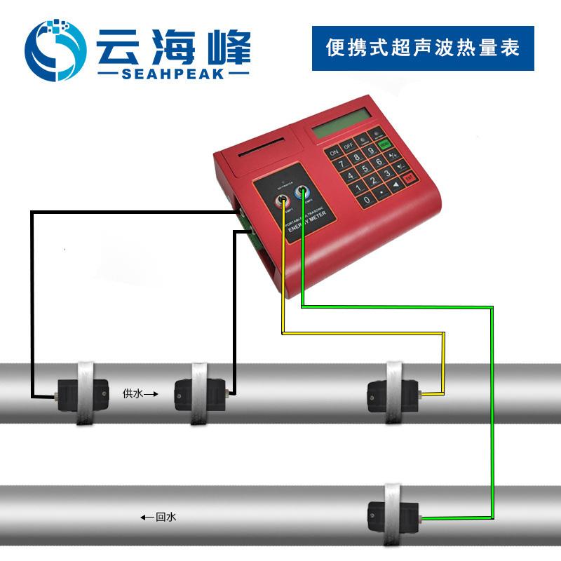 便携式超声波热量表TDS-100P