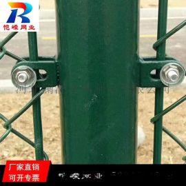 成都足球场浸塑低碳钢丝围栏网厂家