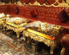 KTV茶几厂家钢化玻璃桌定制量贩简约夜场配套产品