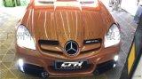 奔驰SLK200改装包围350保险杠侧裙