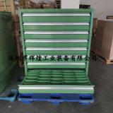 车间双轨钳工柜 重型加厚铁皮零件柜