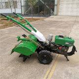180柴油機後旋微耕機,旋地開溝除草多用途微耕機