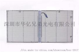 供应户外高通透LED透明屏 P3.9LED透明屏