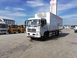 东风9.6米冷藏运输车厂家直销可分期