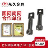 双孔防水型铜接线端子DTF-300平方 电缆铜接头