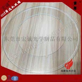 CCD光学影像筛选打孔玻璃盘/扣槽玻璃盘厂家