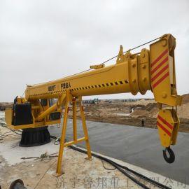 苏州10吨船吊 折臂船吊 码头吊