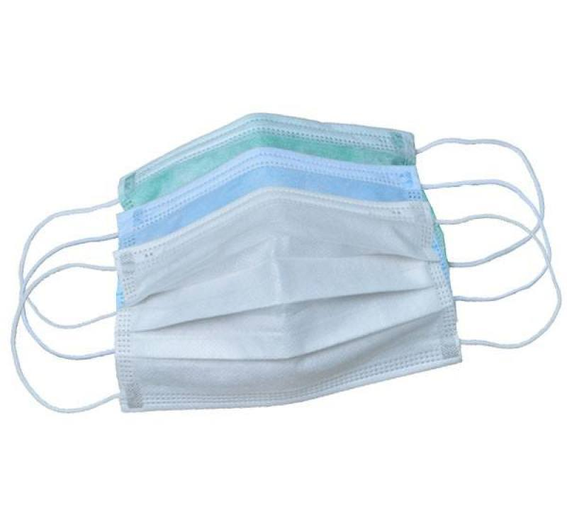 一次性防护面罩材料