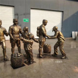廣州黨建文化革命人物雕塑 名圖玻璃鋼廠家一鍵成交