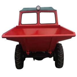 双缸柴油翻斗车 工程自卸车 四轮前翻运输车