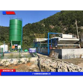 旋转挤压式污泥脱水机,实惠石材厂泥浆处理设备