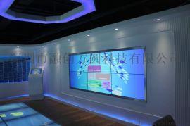 数字展厅LCD拼接真十点红外触摸屏