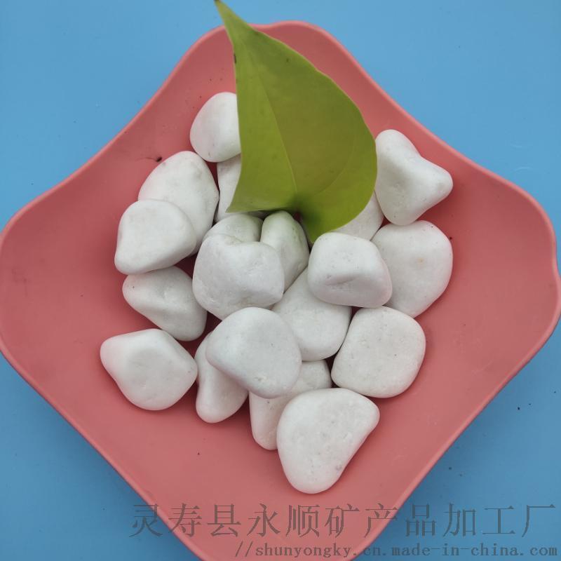 陕西商洛2-5公分白色鹅卵石多少钱一吨