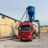 水泥粉装罐车环保无尘风力吸料机远距离干灰粉输送机