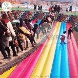 陝西商洛景區安裝網紅吊橋吸引大批羣衆玩耍拍照