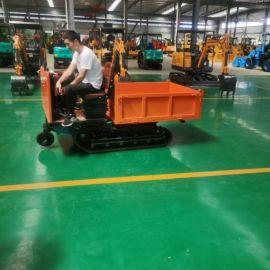 农用小型爬山虎 沃特机械液 压自走式履带运输车