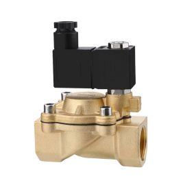进口黄铜先导式电磁阀-内丝连接-温度80℃-NBR