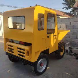 柴油助力自卸液压型翻斗车/农村铺路水泥运输车
