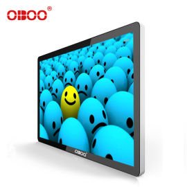 OBOO智能网络55寸壁挂式广告机终端机