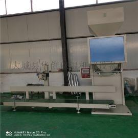 华创定量包装机(5/50kg) 颗粒物料灌装打包机