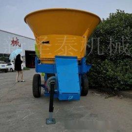 水稻秸秆粉碎机 草捆破碎饲料机 草捆揉丝粉碎机厂家