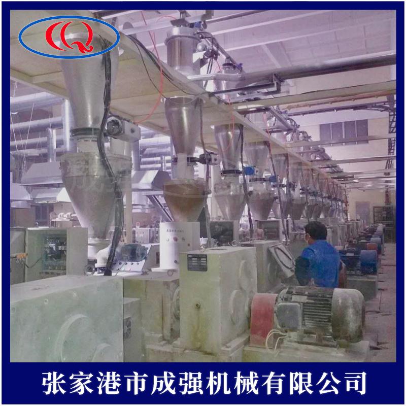 高速混合機集中供料除塵系統